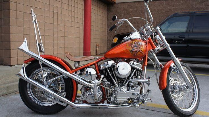 1960 Harley Davidson Panhead For Sale~FEATURED IN NOVEMBER 2011 EASY RID... #harleydavidsonpanhead