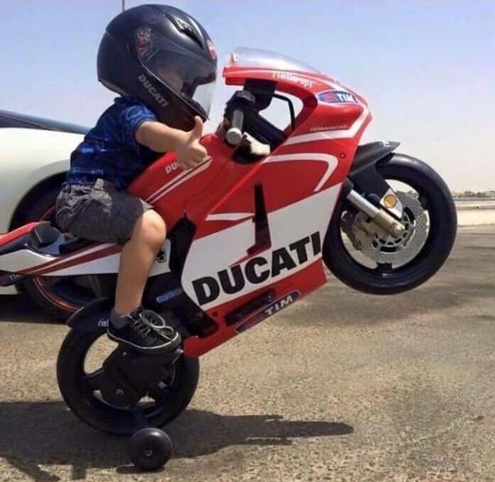 Kids on wheels - mini bikes are the way to begin children on motorcycles. Electric, motorized, Briggs & Stratton- start them young!  TSNY.com - Pinterest
