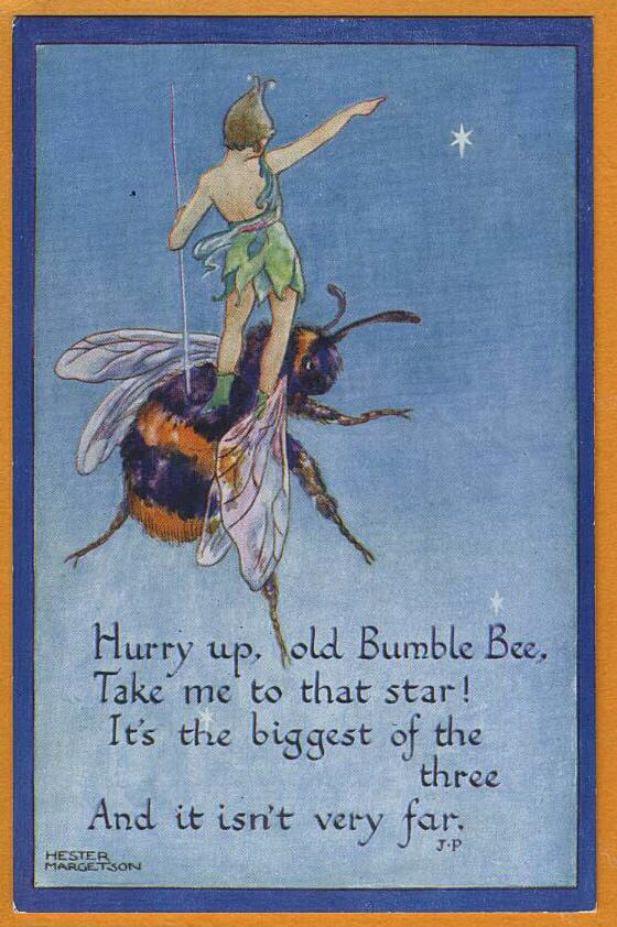 Old bumble bee