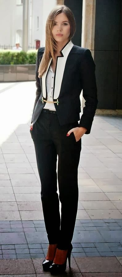 Gorgeous Coat With White Shirt And Pants