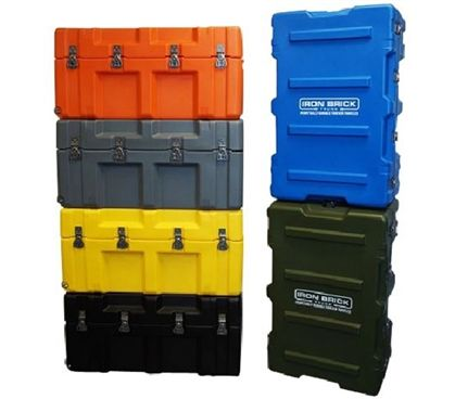 The Iron Brick Trunk - STRONGEST College Trunk is an essential dorm room product to keep your college supplies organized. When shopping for college, add a strong college trunk for dorm storage and organization. Buy a collegiate footlocker for organization