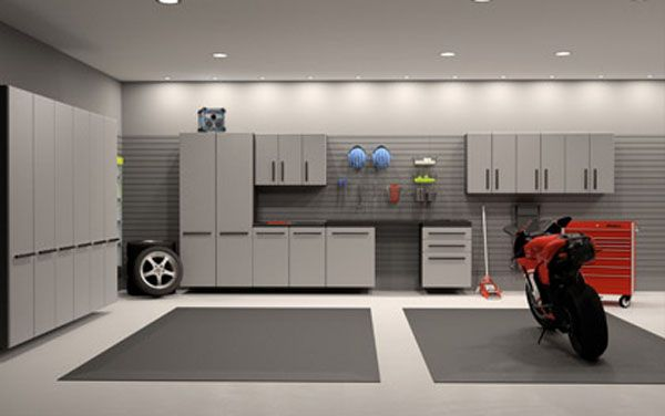 Dream Motorcycle Garages: Park Your Ride in Style at Night