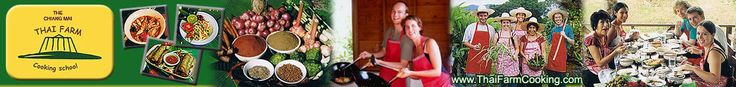 ThaiFarmCooking.com - The Chiang Mai Thai Farm Cooking School in Chiang Mai Thailand, FREE recipe of tom yum koong, fried noodles and many more