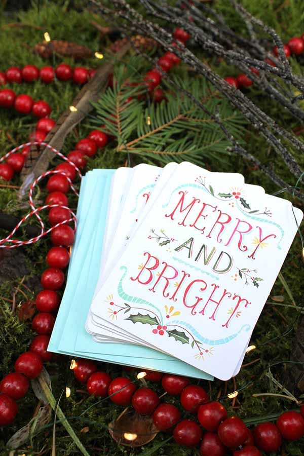 The Best Christmas Cards on Etsy for 2015