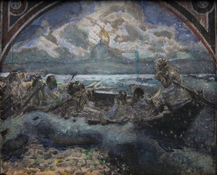 Михаил Александрович Врубель. Хождение по водам
