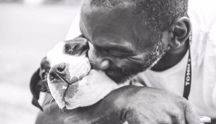 Pour garder son chien, cet homme a préféré se séparer de son lit