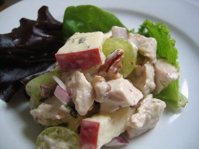 Healthy Chicken Salad | Salads | Pinterest