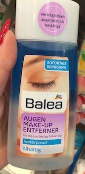 balea augen make-up