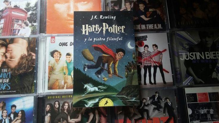 Harry Potter y la piedra filosofal (J.K Rowling):