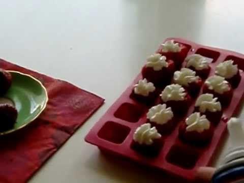 Jello shots in strawberries