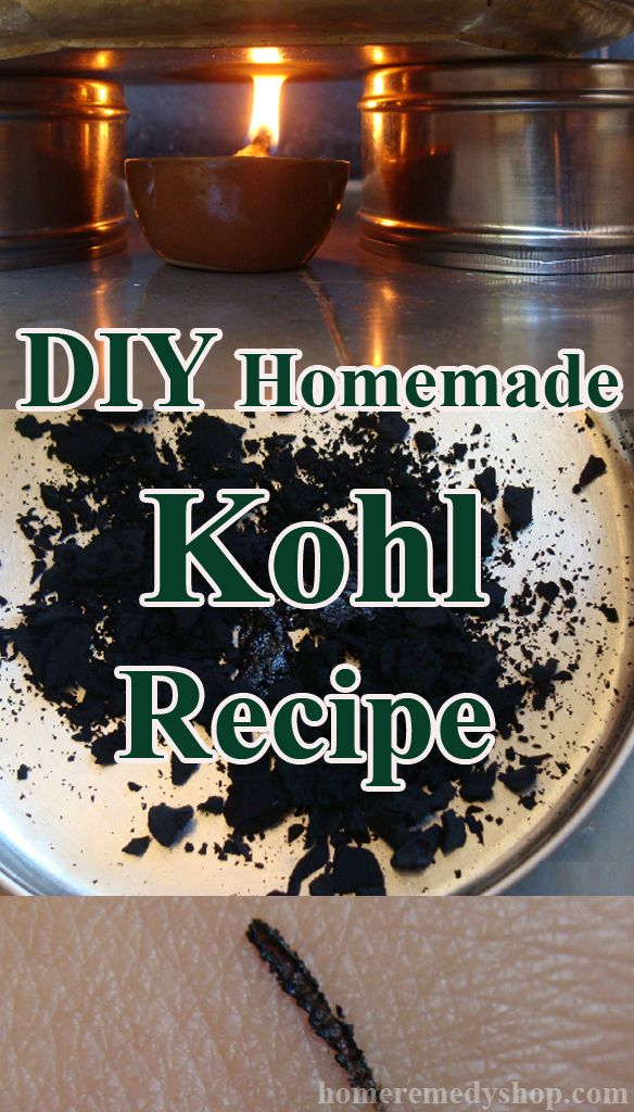 Homemade Kohl Recipe