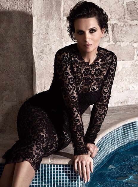 Juliette Binoche in Dolce&Gabbana Spring Summer 2015, The Edit Summer 2015
