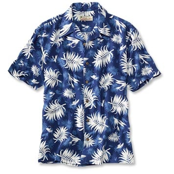G3L5H. Cotton/Rayon washable Hawiian shirt.