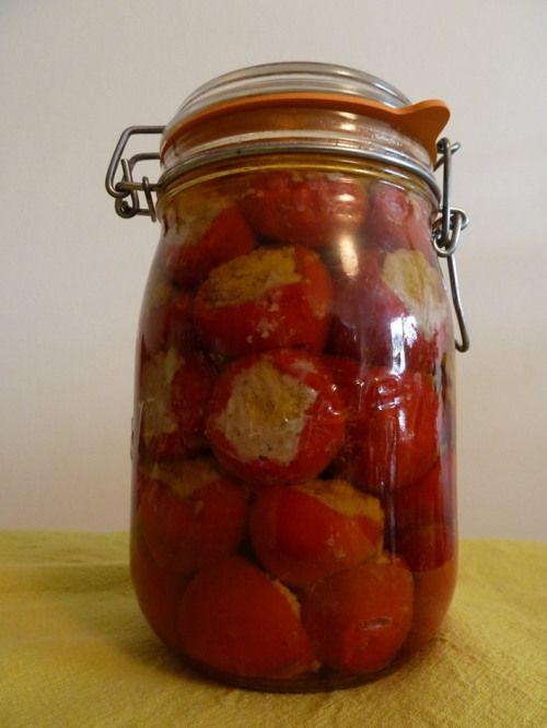 piments farcis poivrons