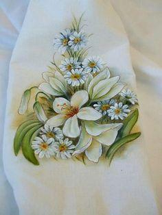 Pintura em tecido.