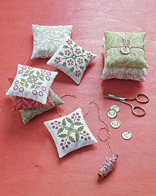 patterned sachets