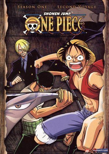 One Piece: Season 1 - Second Voyage [2 Discs] [DVD]