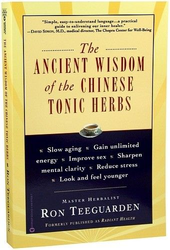 47 best herbs books images on pinterest herbal medicine natural the ancient wisdom of the chinese tonic herbs by ron teeguarden fandeluxe Gallery