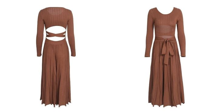 Elastic Backless Dress
