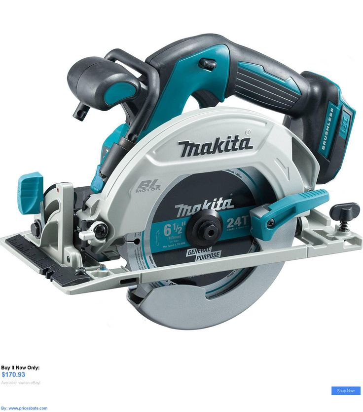 tools: Makita Xsh03z 18-Volt Lxt Brushless 6-1/2-Inch Cordless Circular Saw New In Box BUY IT NOW ONLY: $170.93 #priceabatetools OR #priceabate
