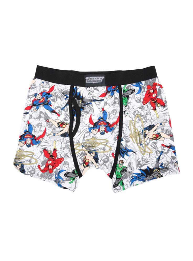 DC Comics Justice League Boxer Briefs ($11.25)