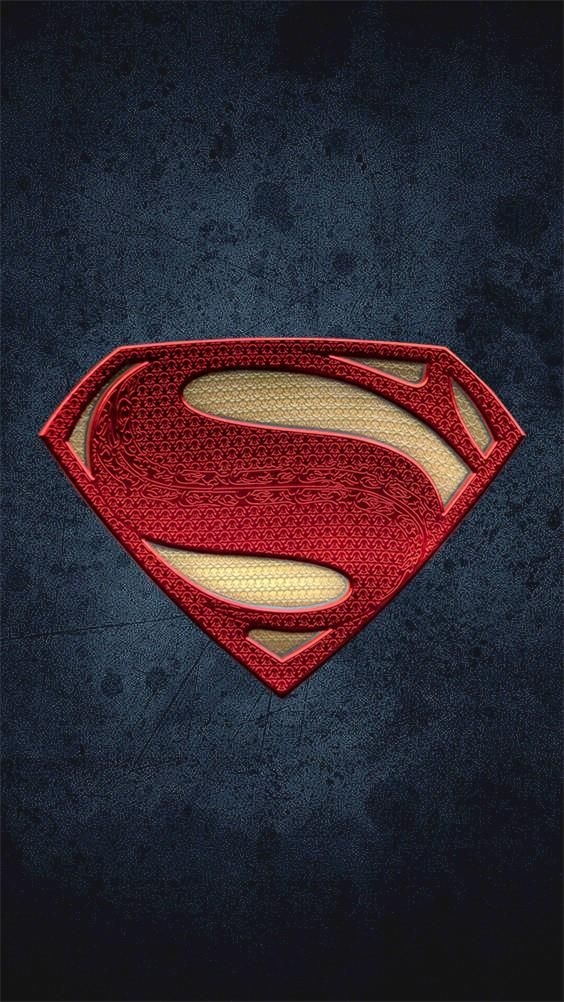 Superman Logo Phone Wallpapers/Background