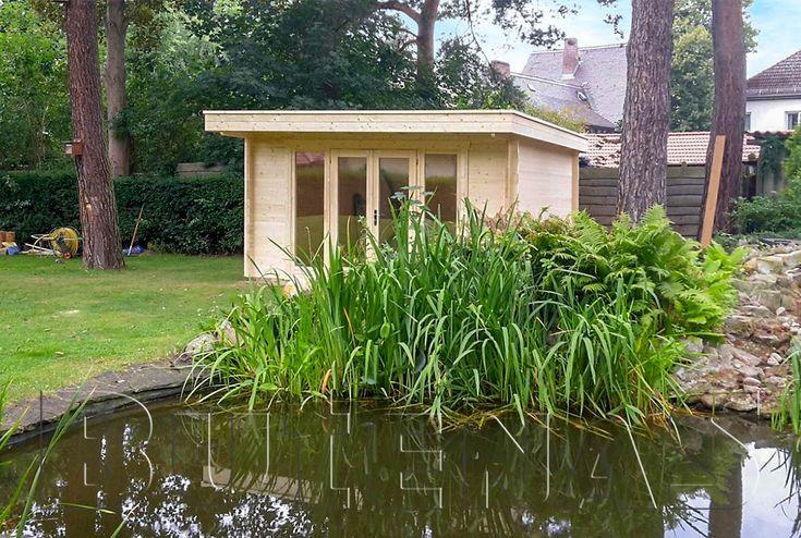 Gartenhaus PANORAMA Flachdach en 2020