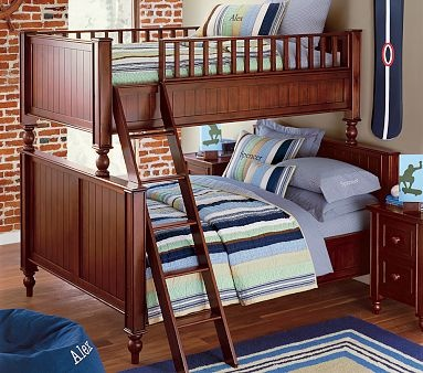 I love the Thomas Twin-over-Full Bunk Bed on potterybarnkids.com: Kids Bedrooms, Bunk Beds, Nautical Bedrooms, Boys Bedrooms, Boys Rooms, Boy Rooms, Rooms Ideas, Pottery Barn, Kids Rooms