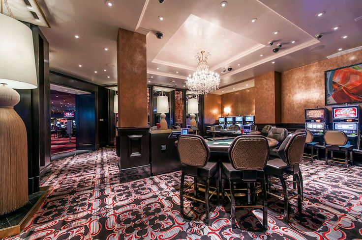 The Cromwell Hotel and #Casino Las Vegas VIP Gaming Area