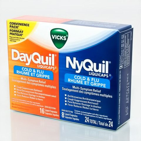 Vicks DayQuil NyQuil Convenience Pack