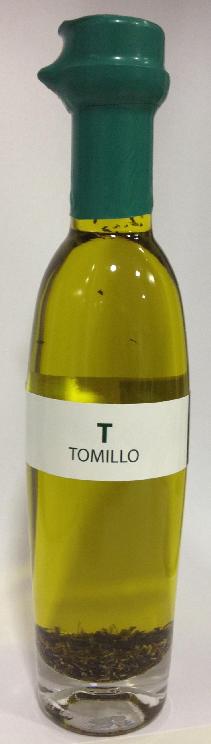 Aceite de oliva virgen extra ecostean con tomillo!
