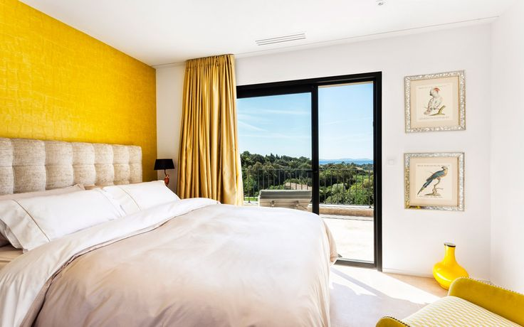 #france#luxuryvilla#vacations#St.Tropez#relax#lacurevillas#travel#luxuryvacation#lovelyviews#europe#bedroom