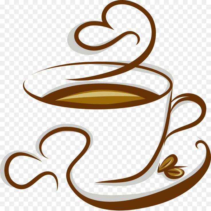 Для книг, рисунок с кофейной чашкой