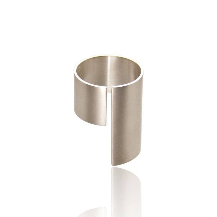 'Between' zilveren ring
