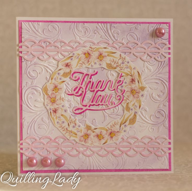 Hi all, today, I have three cards for you with some pink as the main focus. I hope you like them.     Happy crafting!