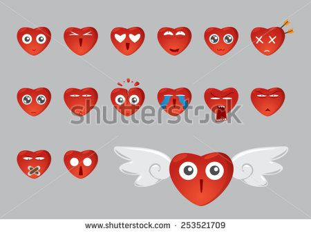 wow, emoticon of love... hmmm, which one that fit with my mood today, huh??
