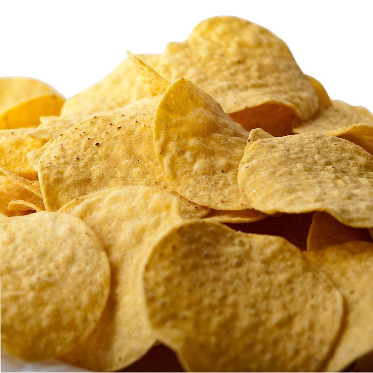 Snyder's of Hanover Yellow Round Corn Chips 1 lb. Bags 6 / Case1-4 $8.49