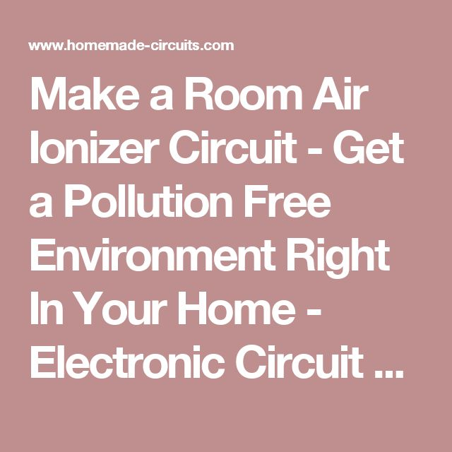 Home electronics projects free
