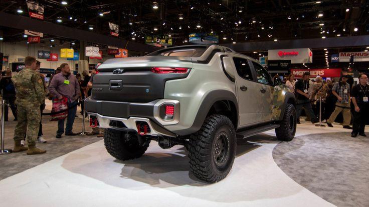 Фото: Внедорожный водородомобиль Chevrolet Colorado ZH2 (Фото)