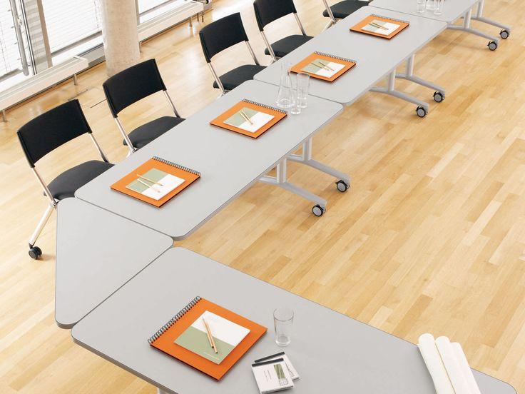 Tavolo da conferenza / rettangolare / indoor / moderno TWISTER WINI Büromöbel Georg Schmidt GmbH & Co. KG