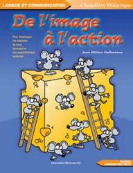 De l'image à l'action est un programme de stimulation du langage qui s'adresse aux enfants âgés de 4 à 8 ans. L'objectif de ce programme est de développer la compréhension des concepts de base et le vocabulaire relatif à ceux-ci à partir de questions et de consignes données à l'enfant. Une vingtaine de thèmes sont suggérés, chacun regroupant une grande image, une feuille-questions et une feuille de consignes. Les activités mettent en jeu diverses habiletés cognitives telles la capacité ...