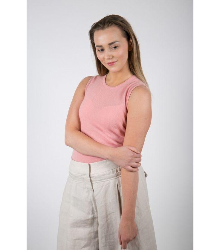 Pink Hug Cashmere Top, S - WST