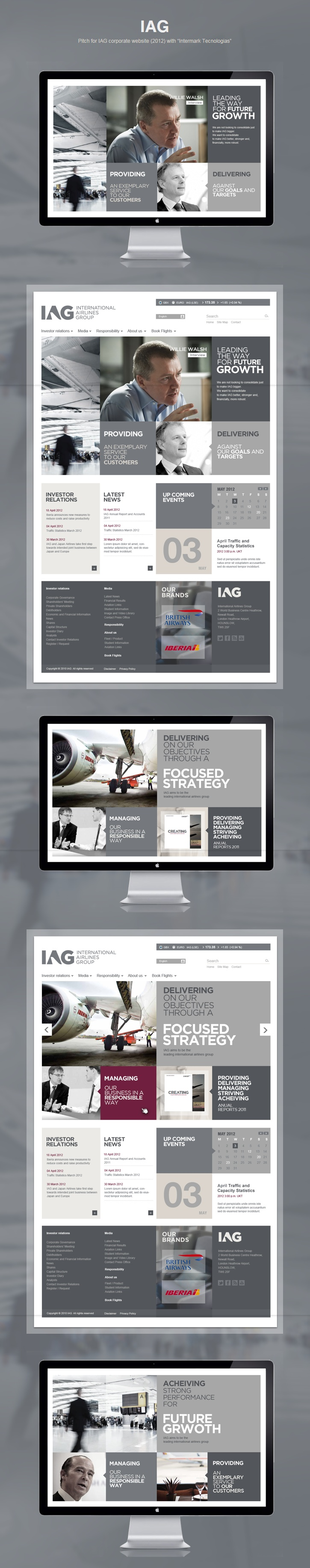 Website Design - use more pictures and get and fill space with customer testimonials / data at work stats