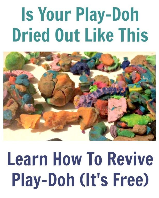 Is your play-doh all hard and dried out? Learn how to revive your play-doh for free. My three-year-old daughter ...