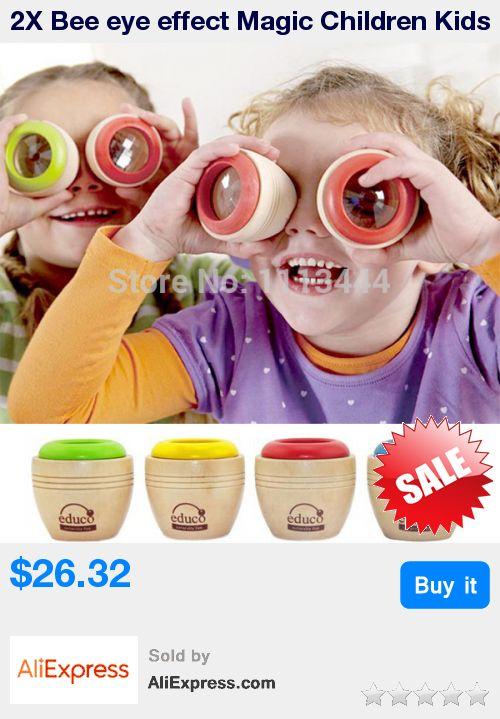 2X Bee eye effect Magic Children Kids Mini Wooden Kaleidoscope Toys safe Classic Toys fantasias infantis caleidoscopio * Pub Date: 06:42 Oct 20 2017