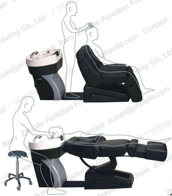 Hair chair cost price pinterest salons guangzhou for Wash hair salon