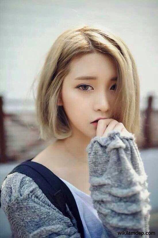 The Woman Asian Beauty Korean Beautiful Short