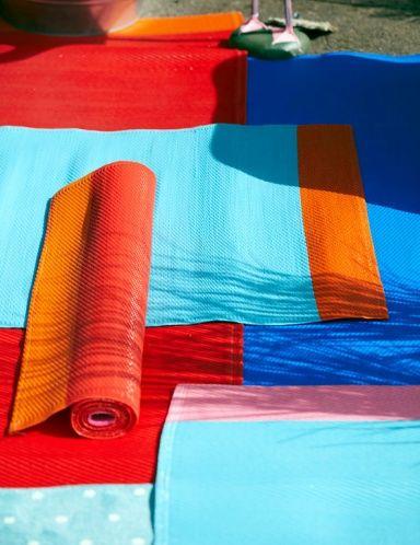 New SPRINGKORN outdoor plastic rugs