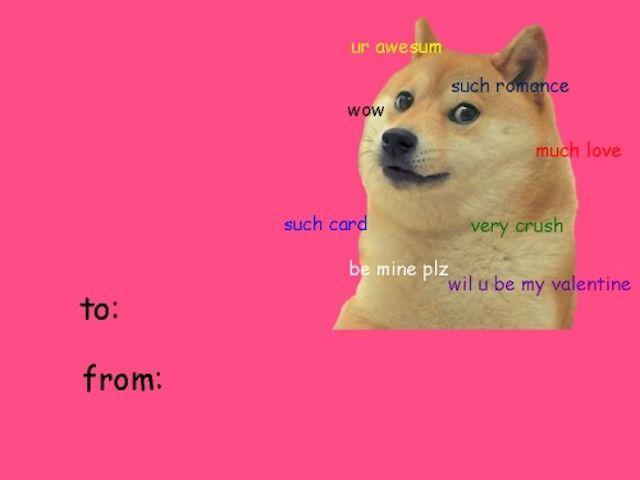 You Can't Resist Reblogging These 25 Tumblr Valentine Cards: 'ur awesum'