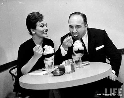Liz Renay and Mickey Cohen